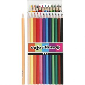 Colortime Crayons – 12 pcs.